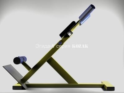 ГИПЕРЭКСТЕНЗИЯ УГЛОВАЯ KOZAK-G15