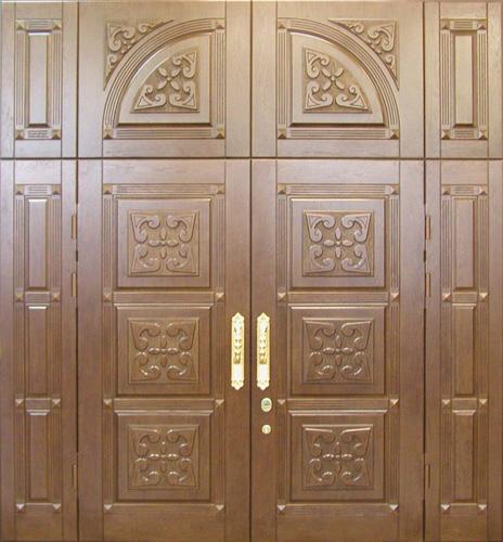 образцы красивых железных дверей в дом